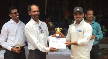 Ashish Fauzdar scores a 50ball 87 to steer Yes Bank to a win in the finals of the Dreamz Corporate T20 Tournament