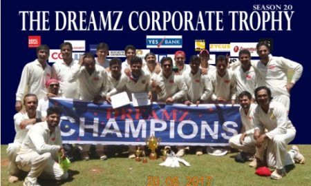 Keeper Sujit Devkar did what Dhoni does in the finals of the Dreamz T20 Tournament