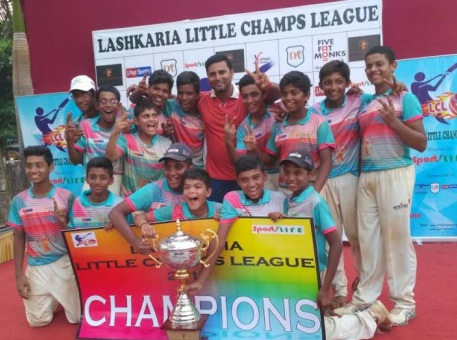 Talented Akash Singh steers M.I.G to a win in the grand finals of the Lashkaria Little Champs League
