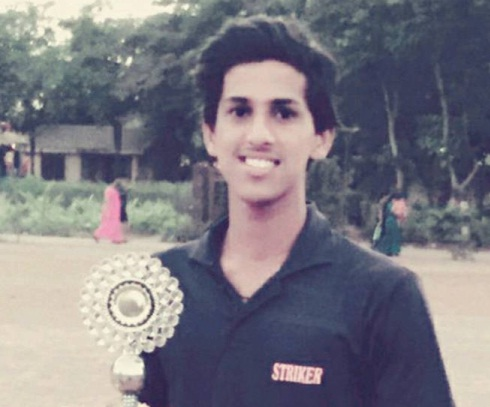 Talented Tanush Kotian scores a matured 110 vs Dilip Vengsarkar Academy in the U-19 Naren Tamhane Trophy
