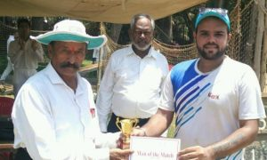 Opener Nitesh's 58ball 92 steers CEX to a win over CGI in the Dreamz T20 Tournament