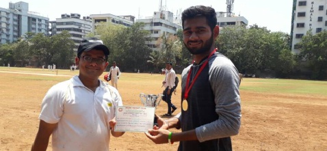 Pranav Shalaka hits a match-winning half century to steer Travelex in the semis of the Milan T20 Tournament