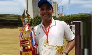 Rahul Chavarkar's all-round brilliance helps Abbott win the finals of the Milan T20 Tournament
