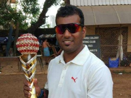 Sachin smashes a 28ball 72 to steer Gokuldham to a win in the Gokuldham Trophy 2017