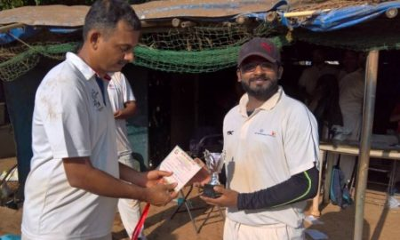 LandT Openers Sagar and Ajinkya seal the game for vs MTNL in the Milan T20 Tournament
