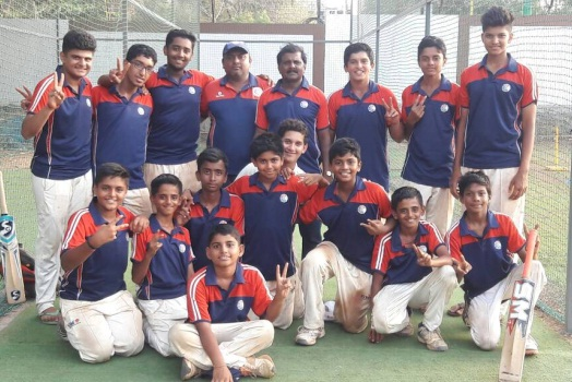 Jay, Parth and Om seal the game for Singhania in the semi-finals of the MCA HT Bhandari Trophy