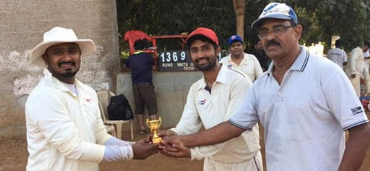 Vishal Pendurkar's all-round show helps GBSC win against SKN sports club in the DGRS Champions Cup 2017
