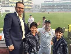 Jr. Sehwag makes his mark: Scores a solid 51 and scalps 2wkts in the 2nd Master Taksham (Under-12) Cricket Tournament