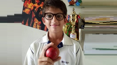 Pacer Vivan Radia's 6wkts impresses one and all in his 1st match of the U-14 Summer Camp Tournament