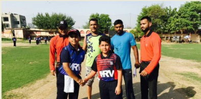Leg-Spinner Vivek Das's fifer helps MRV Academy beat Sehwag Academy in the U/12 Saksham Tournament