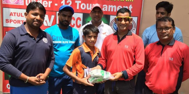 Anshul Sehrawat's all-round show helps RRG reach the finals of the 2nd Master Taksham Under/12 Tournament