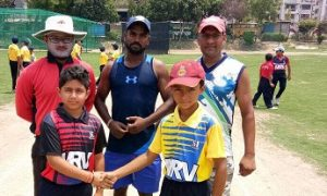 Chirag Negi and Yash Chaudhary teers Sonnet Club to a big win in the 2nd Master Taksham U/12 Tournament