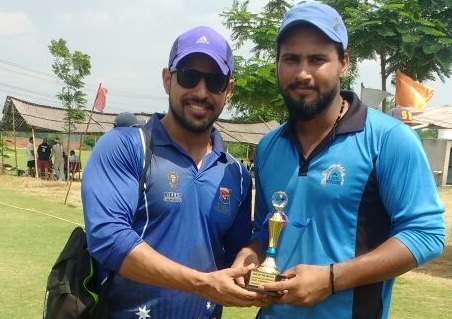 Inder and Deepak's power hitting steers Reefit to a semi-finals win in the 2nd Skyline T20 Corporate Cricket Championship 2017