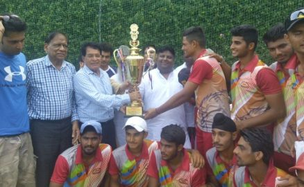 Rishi Pal and Lakshya shine to steer AKCC to a win in the Gaikwad North Zone Trophy 2017