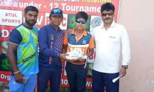 Pratham Gosain's fiery 124 Rohtak Road Gymkhana beat DIS Academy in the 2nd Master Taksham U/12 Tournament