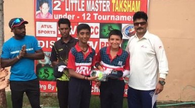 Yash Chaudhary and Aaryan Vashisht help Sonnet Club win the semis of the U/12 Master Taksham Tournament