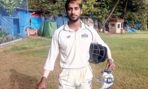 Kevin Almeida back in news with a aggressive half century vs National CC in the Kanga League 2017/18