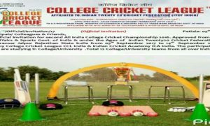 ITCF INDIA College Cricket League 2017 Jaipur