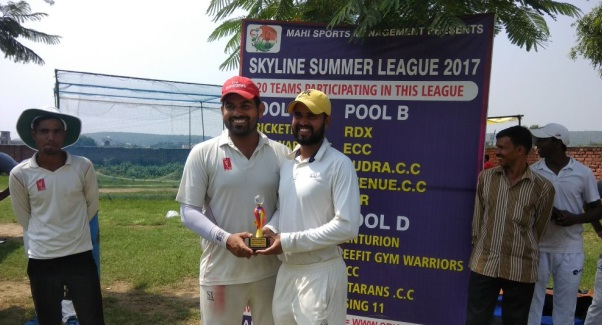 Manoj and Rahul's fiery fifties steers Reefit Gym Warriors to a win in the Skyline T20 Corporate League