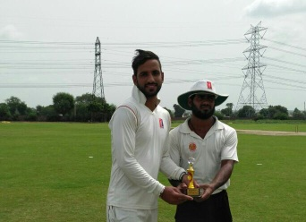 Ajay's destructive 27ball 74* helps Centurion win over VCC in the Skyline Corporate T20 League