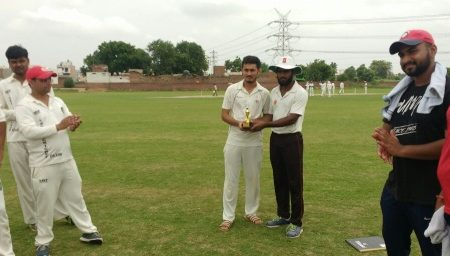 Off-Spinner Amit Dalal scalps stunning figures of 5/5 in the ongoing Skyline T20 Corporate League