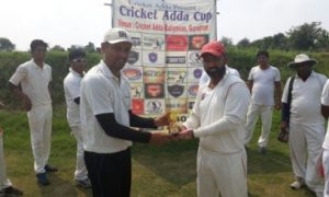 Anubhav and Ajay take 8wkts together to steer Game Swingers to a win in the Cricket Adda T-20 Cup 2017