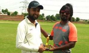 Anuj Rasganiya's fiery 70 and Manish's 49* steers RDX to a win in the Skyline T20 Corporate League