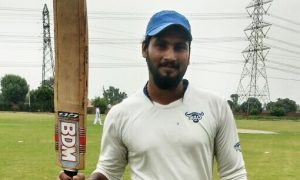118 off 46balls: Inderjeet Yadav does a Mccullum at Local Level against Street Ninjas in the Skyline T20 Corporate League