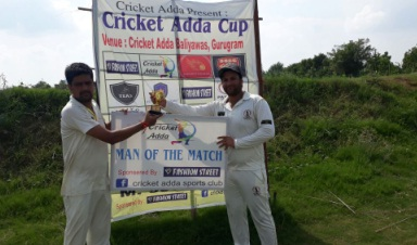 Jaladh Day's 56* steers P4C to a win over SSCC in the Cricket Adda T-20 Cup 2017