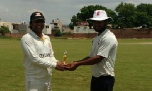Naveen Chand's all-round show propels Centurion team to a win in the Skyline T20 Corporate League