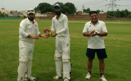 Spinner Preet takes 5/11 vs Avenu CC in the Skyline Corporate T20 league