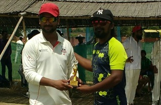 Rajeev Sinha's solid 50 helps Avenue Cricket Club defeat Rudra Cricket Club in the Skyline T20 Tournament