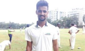 Seamer Risabh Karwa takes a 9wkt haul to defeat Canara Vijay in the ongoing Kanga League 2017/18