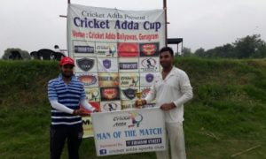 All-rounder Saikat helps DRS win while Dixit's 52* for Game Swingers ends in a losing cause in the Cricket Adda Cup 2017