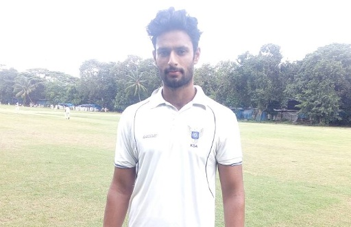 Talented Shivam Dubey scores an aggressive 103*vs Sind SC in the Kanga League 2017/18