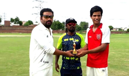 Vaibhav and Shukwinder's perfomance helps Titans win over Empire CC in the Skyline Corporate Tournament