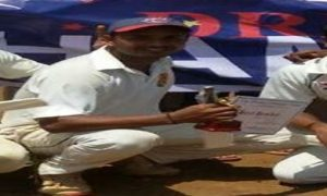Ramesh Singh rattles Sunder CC innings with 6/35 in the ongoing Kanga League 2017
