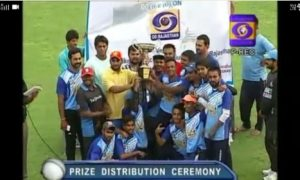India Blue Team with two wins qualify for the finals of the Target Cricket League 2017