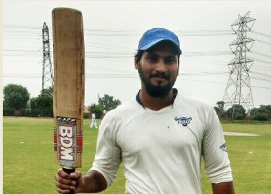 Indersingh continues his good form from Skyline Tournament: Scores a record 31ball 114* in the Inter-Office Tournament '17