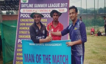 Rahul Daulta's 4/13 helps Kings XI beat Hustlers in the ongoing Skyline T20 Champions League