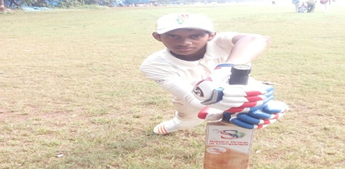 Middle order bat Arman Pathan stamps his class again with a brazen knock of 100* in the U-14 Late Ajit Naik Memorial Tournament 2017-18