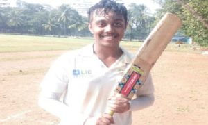 All-rounder Kunj Vora's superb form steers HR College to 3 back to back wins in the DSO under 17 tournament