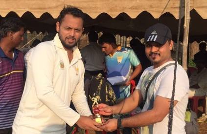 Opener Tousif Peerzade impresses one and all with his gritty 92 in the Kanga League 2017