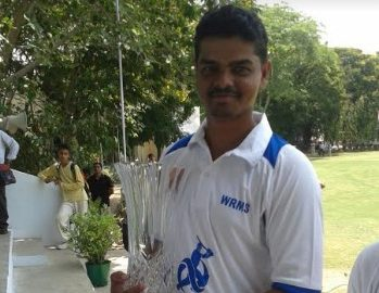 Left-arm Spinner Atish Walinjkar takes a 5wkt haul vs Ours CC in the Kanga League 2017