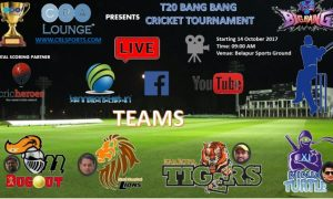 T-20 Bang Bang Cricket Tournament 2017 Navi Mumbai