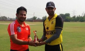 Mehak Malik's quick 43 and Jitender's bowling steers Adib to a win in the Skyline Champions League