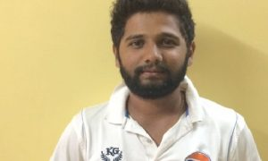 Spinner Anirudha Mainkar bags 6/36 vs Ghatkoper Jolly Gymkhana in the Kanga League 2017