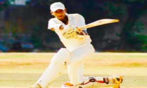 Opener Priyank Shetty smashes a regal century vs Regal CC in the ongoing Kanga League 2017