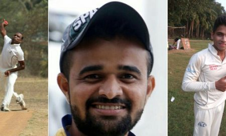 Rajesh Paghdhare, Prasad Mahate and Bhushan Shinde steer Regent CC to a dominating win over Young Muslims SC in the Kanga League 2017