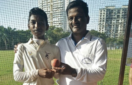 Chinaman Sail Dawane stuns Sporting CC with 8/17 in the ongoing Under 14 CPCC Selection Tournament